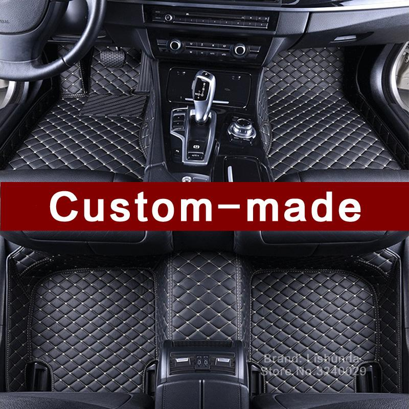 Weather Car Mats >> Custom Made Car Floor Mats For Range Rover L322 L405 All Weather Car Styling High Quality Luxury Carpets Rug Liners