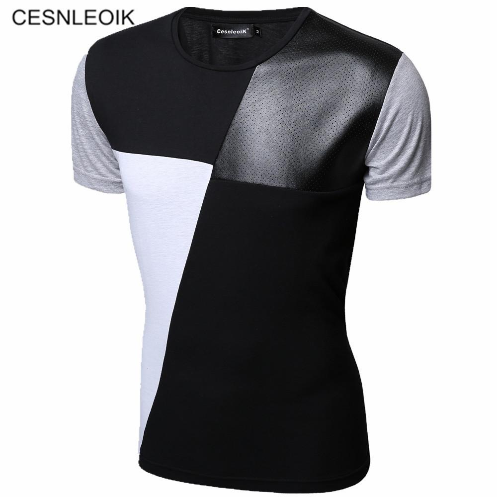 2ac575303aee8 8 Designs Mens T Shirt Slim Fit Crew Neck T Shirt Men Short Sleeve Shirt  Casual Tshirt Tee Tops Mens Short Size M 5XL In T Shirts T Shirts For From  Rykeri