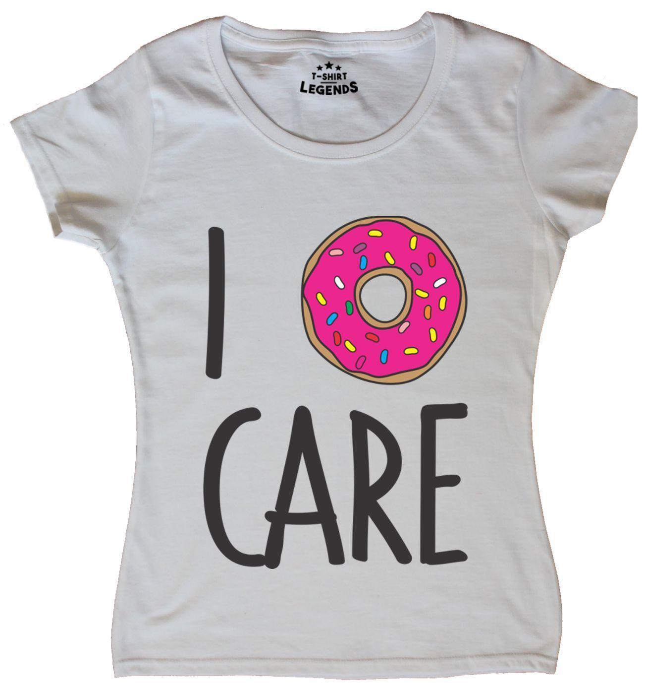 cf865522 Details Zu I Donut Care Funny Female Fit T Shirt Funny Unisex Casual Crazy  T Shirts T Shirt Prints From Vectorbombb, $12.96| DHgate.Com