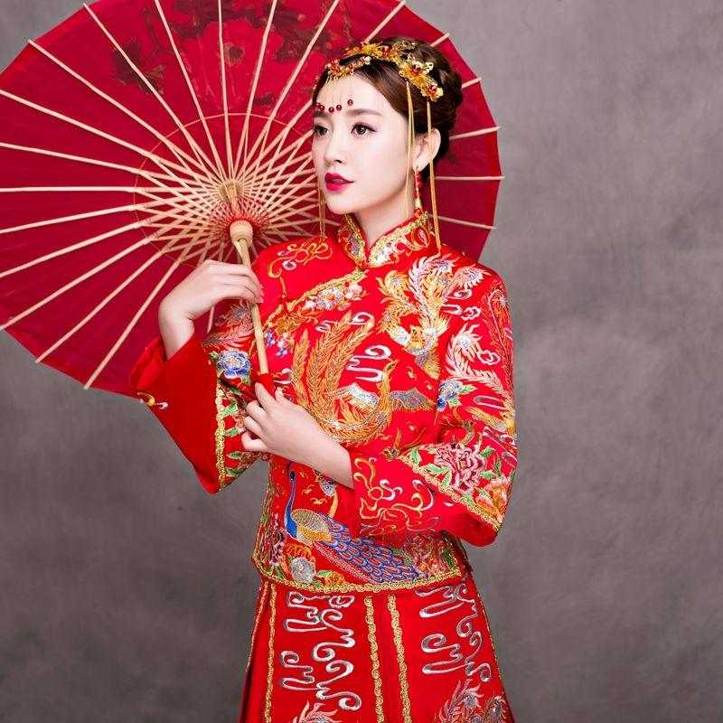 Xiu Wo Dress, Bridal Gown, Wedding Dress, Chinese Wedding, Dressing ...