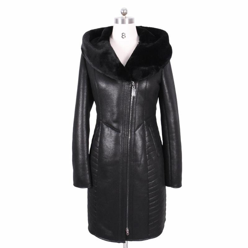 85d7356cc39 2019 2017 New Winter Faux Fur Coat Women Long Suede Fashion Embroider  Hooded Thickened Cold Resistant Sexy Bf Plus Size Bust 140 Cm From  Cover3127