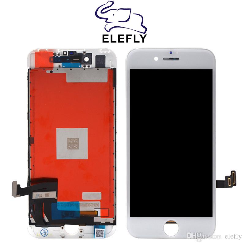 OEM Quality For iPhone 7 7plus Plus LCD Display Touch Screen Replacement with Full Assembly Tested Black&White