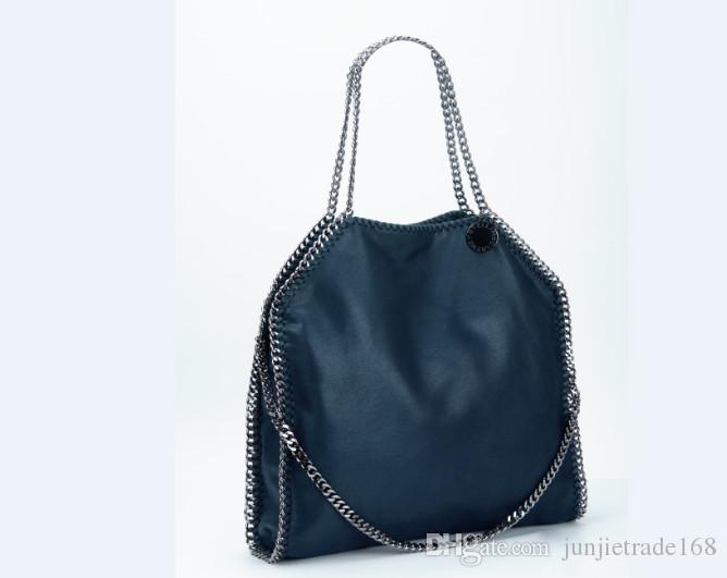 2018ss Diagonal Mobile Stella Handbags Original Material Pvc MC ... cc796b49d1703
