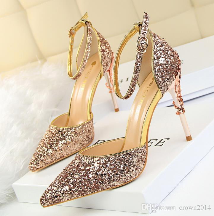 Search For Flights New Roman Style Crystal Sandals Custom-made 15cm Ultrafine High Heels/personalized Performance Dance Shoes Office & School Supplies