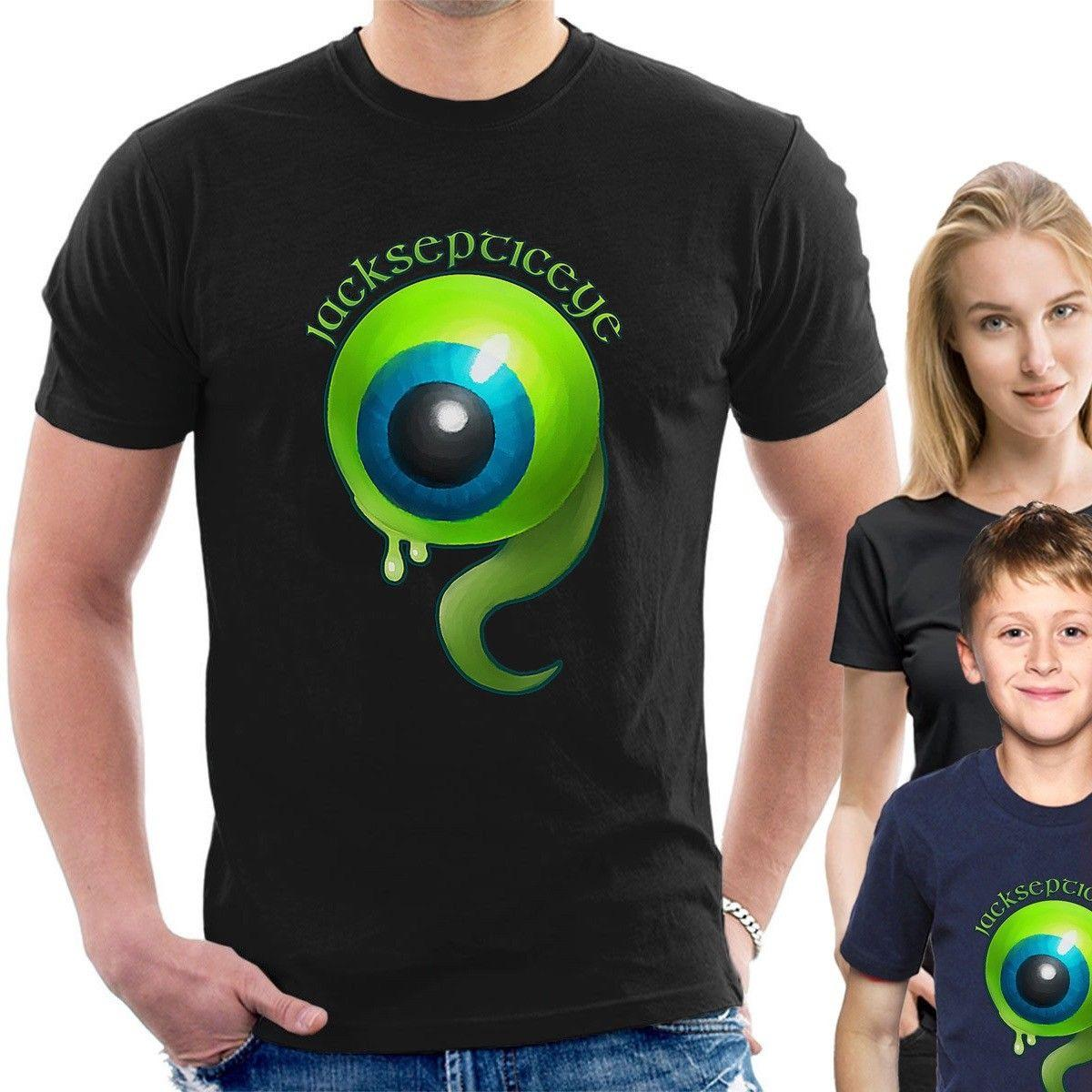 873b1d37f JACKSEPTICEYE T SHIRT Gaming Like A Boss Jack Septic Eye Tee B35 Cartoon T  Shirt Men Unisex New Fashion Dirty T Shirts Graphic Tee Shirts From  Designtshirts ...