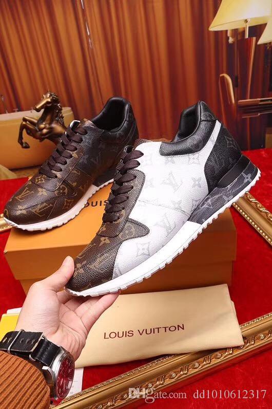d043fed58 2019 LlVv Luxury Designer Shoes High-quality Shoes Lace-up Brand Men ...