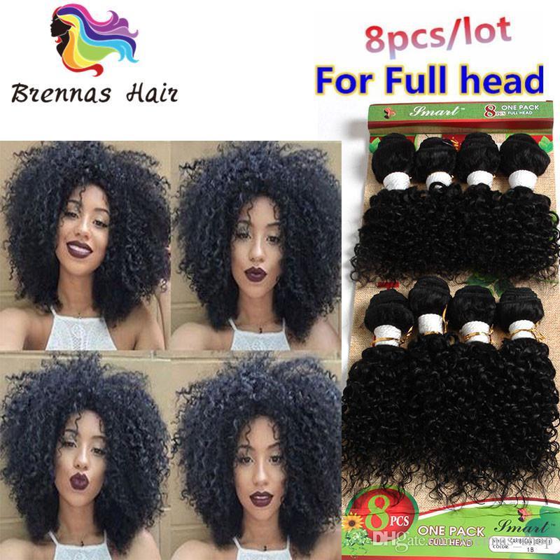 8 Bundleshuman Hair Extensions Deep Body Wave Hair Afro Kinky Curly