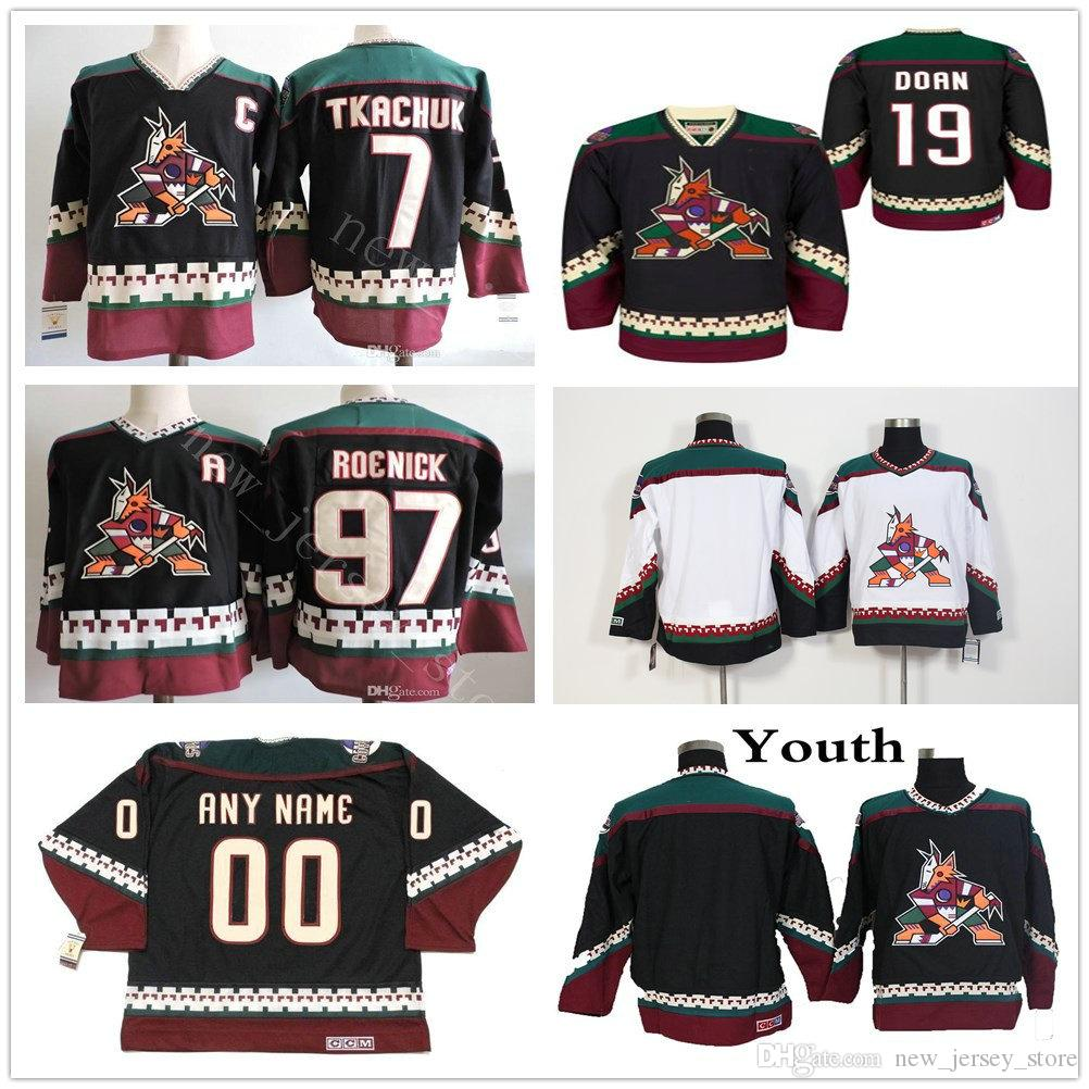 0b366c40ad9 Vintage Arizona Coyotes 97 Jeremy Roenick Hockey Jerseys Stitched ...