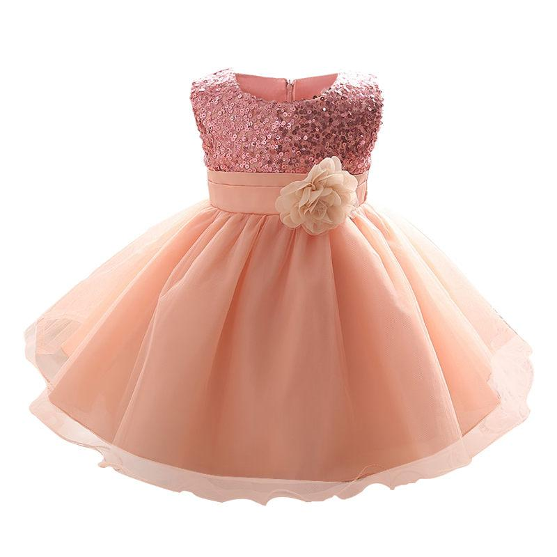Christmas Baby Girl 0 2 Years Old Birthday LittleToddler Gown Ball Cute Kids Dress For Little Girls Boutique Clothing Canada 2019 From Babymom