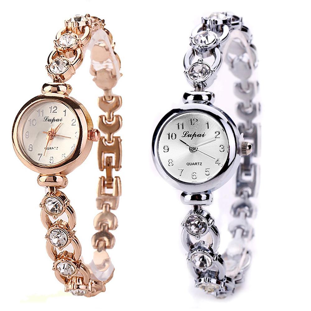 b3cf7ec79c0a Compre LVPAI Nueva Moda Relojes Mujer Marca De Lujo De Acero Inoxidable Relojes  Pulsera Señoras Vestido De Cuarzo Reloj Mujer Reloj Pt1 A  34.3 Del ...