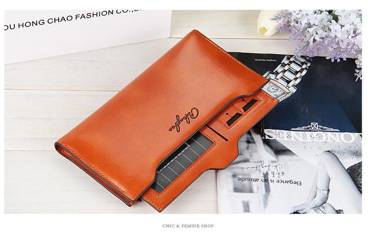 neue Ankunft Leder Damen Brieftaschen Lady Messenger Tasche Design Brieftasche ändern Geldbeutel für Lady Wallets NSP836-3