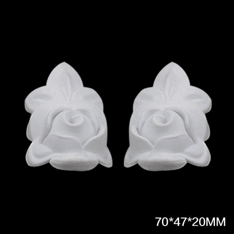 Großhandel Großhandel 100 Stück Weiß Überstreichbar Dekorative Möbel ...