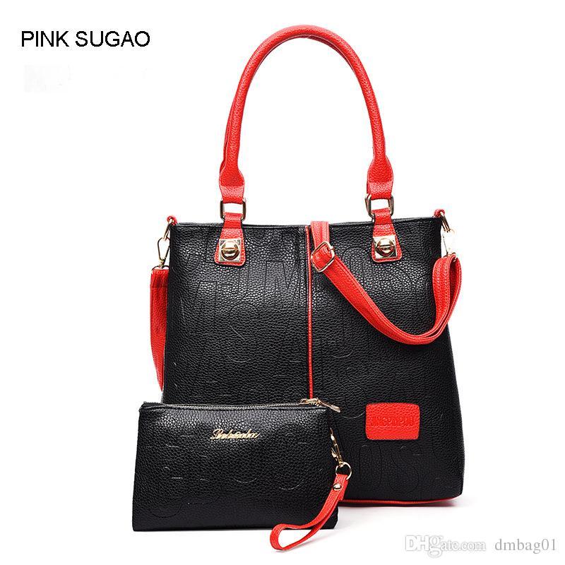 a5e53245d6 Pink Sugao Handbags Set Women Pu Leather Designer Handbags Sac À Main Tote  Bag Cross Body Bag Women Shoulder Bag Wholesale Purses White Handbags From  ...