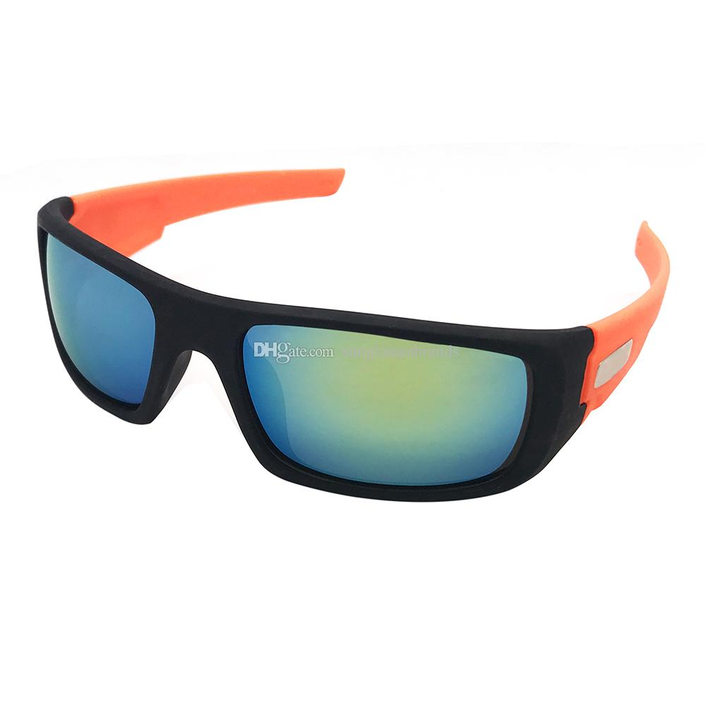 19fca21fbf Luxury Design Sunglasses Ocrankshaft Fashion Sports Brand Eyewear Black   Orange  Gold Mercury IRIDIUM Mirror Lens LEN1101 OK88 Polarised Sunglasses  Baby ...