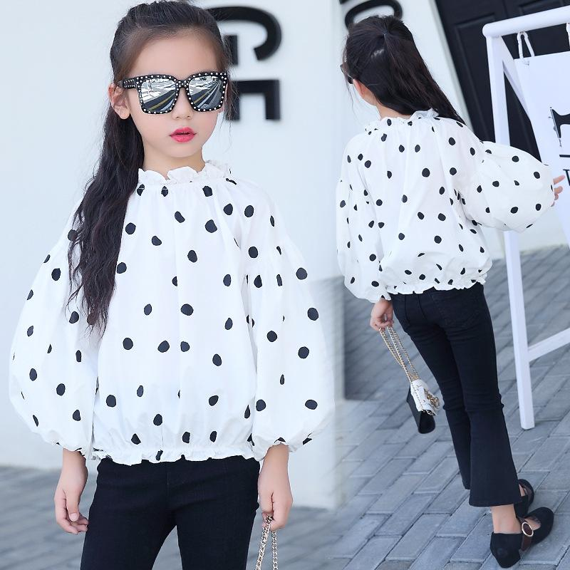 c0f661afc33a 2019 Children S Clothing 2018 Spring Autumn New Dots Children S ...