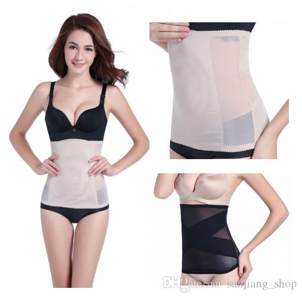 4d9da01e71a 2019 Summer Invisible Body Shaper Belt Tummy Trimmer Waist Trainer Stomach  Control Girdle Slimming Belts Light Thin Bellyband Waist Cincher From ...