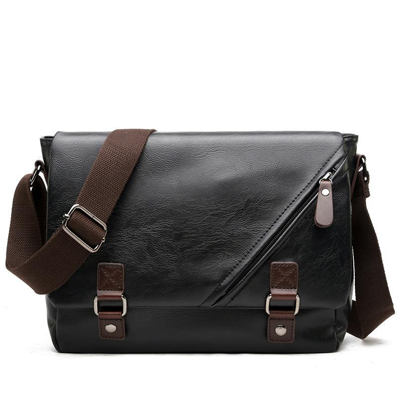 d3b9b0d7823 Man Vertical High Quality Leather Bag Men Messenger Business Men s ...