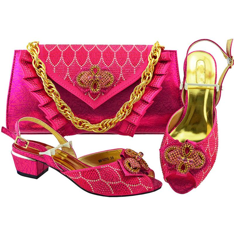 Latest African Matching Shoes And Bags Italian Shoes With Matching Bags  High Quality Shoes And Bag Sets For Party In Women Pink Shoes Munro Shoes  From ... e4396bff27b3