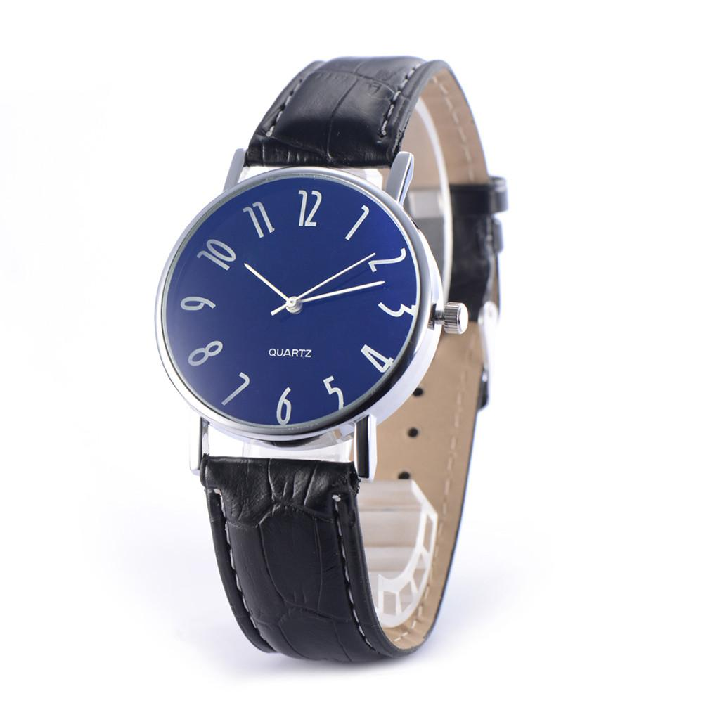 794b5bdf1c Man Men Watches For Male Boys Fashion Color Belt Strap Leather Bracelets  Digital Dial Dropshipping Quartz Analog Wrist Watches Online Watch Sales Buy  Watch ...