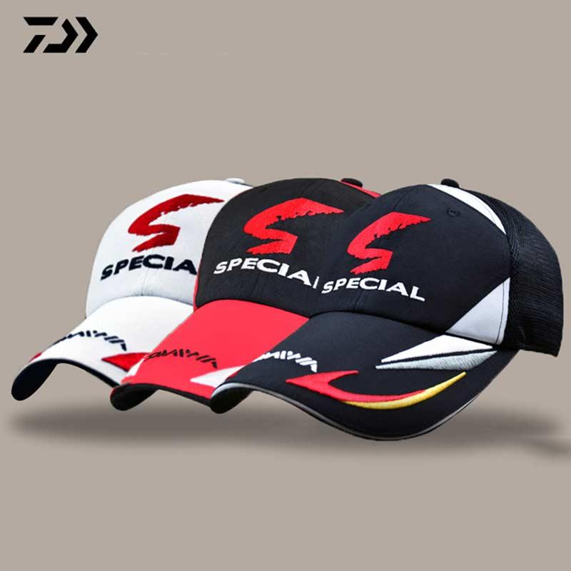 e2c4927f5b3 Adjustable Fishing Hat Japanese Top Embroidery Breathable Fishing Cap  Sunshade Sport Baseball Fishermen Hat Outdoor Hat UK 2019 From Sport2017