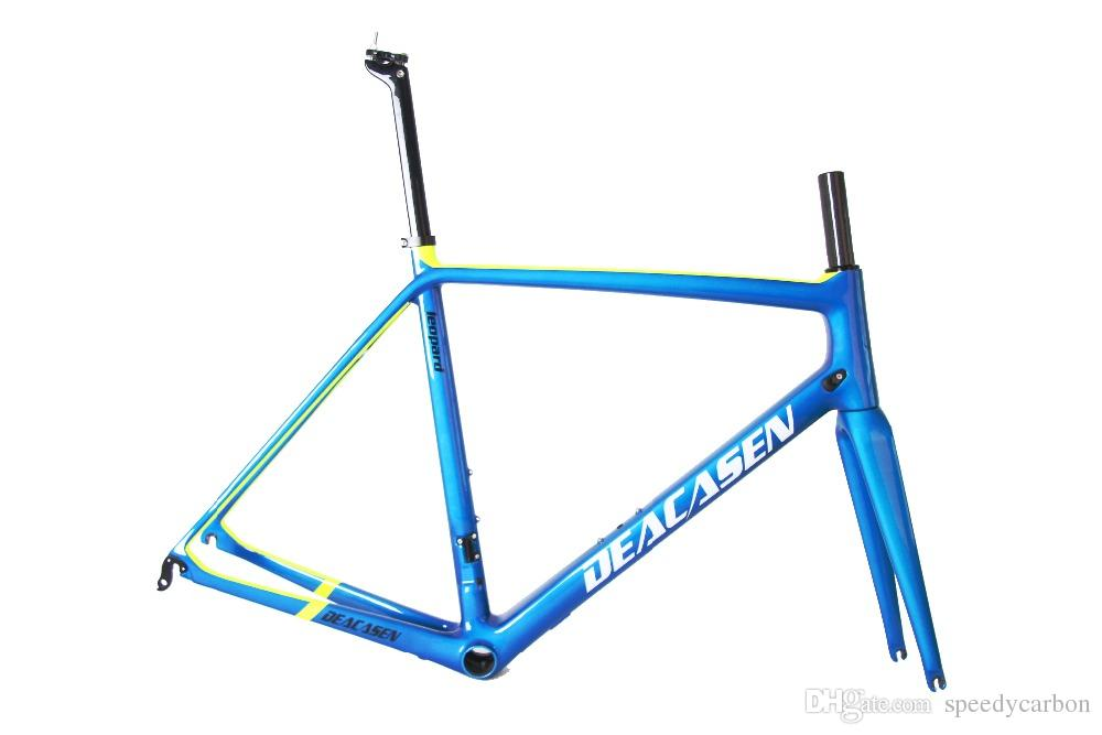 2018 New New Carbon Fiber Bike Frame Di2&Mechanical Lightweight Bike ...