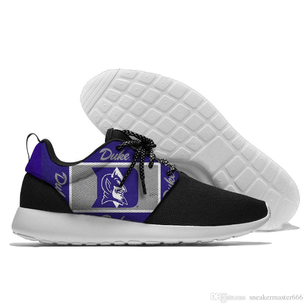 sports shoes c0479 96e99 Duke Blue Devils Trail Hunting Sneaker 2018 man walking outdoor trainer men  Wholesale Outdoor Sport Runner Shoes female