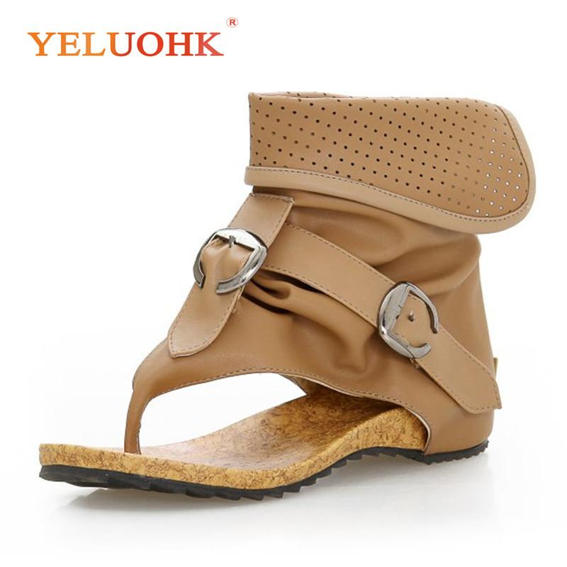 Soft Leather Women 2018 Shoes Comfortable Summer Female Sandals SMpUzV