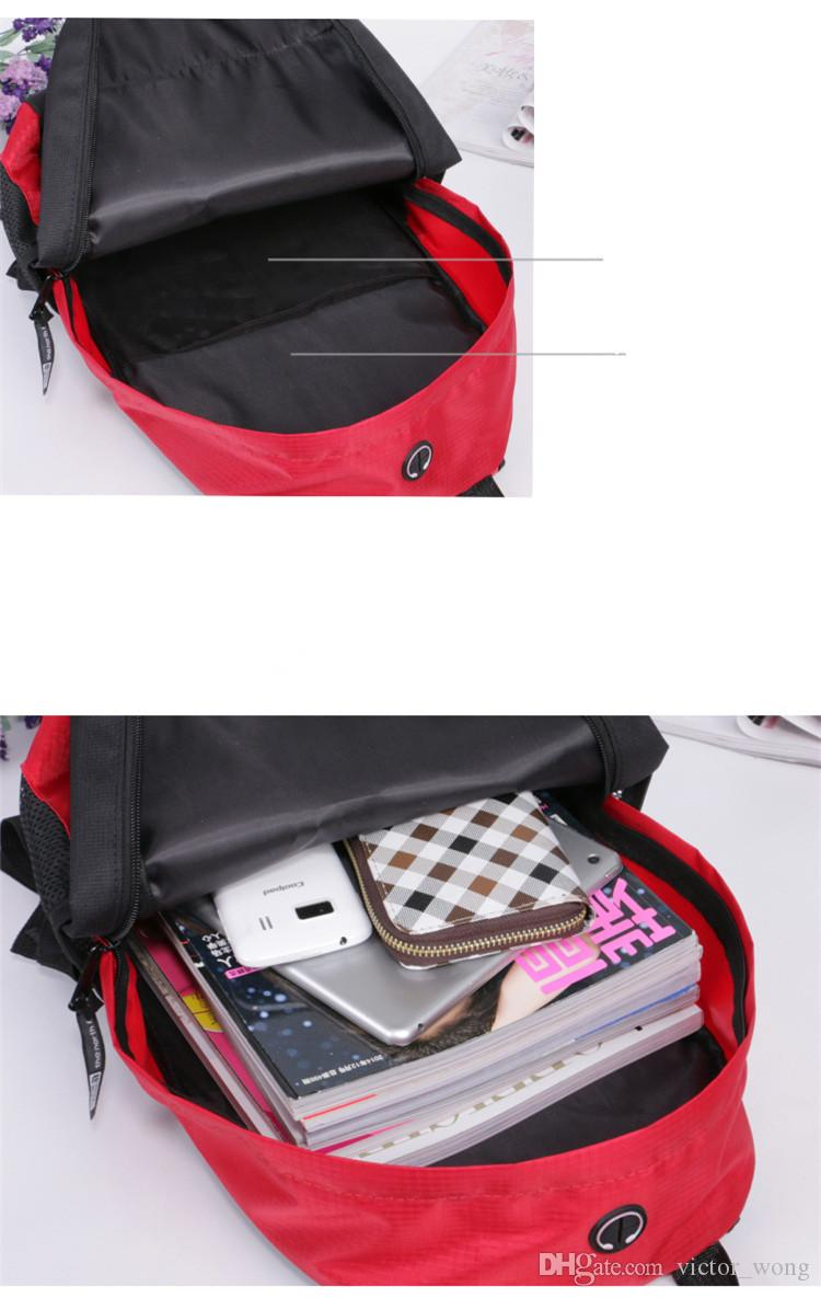 The North F Backpack Casual Backpacks Travel Outdoor Sports Bags Teenager Students School Bag