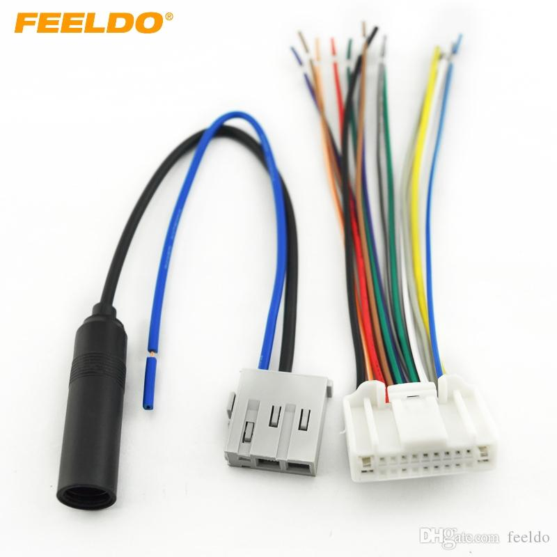 2019 feeldo car stereo audio wiring harness with antenna adapter2019 feeldo car stereo audio wiring harness with antenna adapter plug for nissan subaru infiniti oem factory head unit 1638 from feeldo, $10 12 dhgate