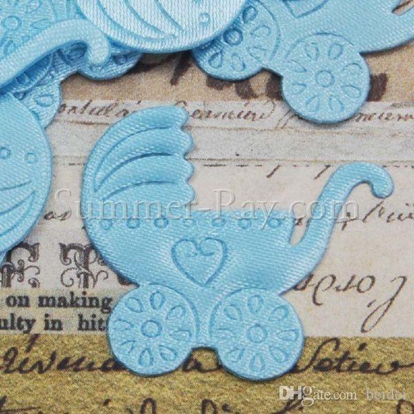 Wholesale Baby Shower Party Decoration Favor Pram Applique Candy Box