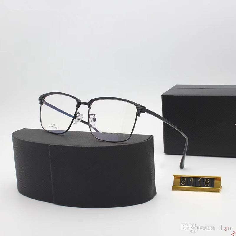 b735e19d077 2018 New Fashion Brand Glasses Frame Man And Female High Quatuli ...