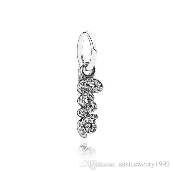 43ea77c02 ... store 2018 crystal drop dangle pendants fit charms bracelet wholesale  designs for best friends girls mom