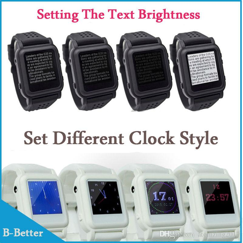 New Arrival MP4 Watch 8GB Memory eBook watch Support e-book reader Music player Different language