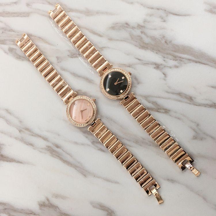 2018 Топ модный бренд часы браслет женщины sexy розовое золото наручные часы бесплатная доставка леди часы горячей продажи популярные Shell лицо