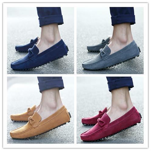 Fashion Men Slip On Leisure Flat Shoes Fashion Male Breathable