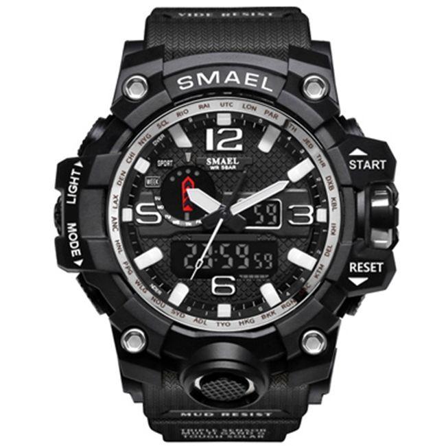 Compre 2018 Brand New Hot Smael 50m Impermeable Reloj Para Hombres Dual  Display Dual Display Multifunción Led Sports Digital Reloj Electrónico Para  Hombres ... b4e4d3142605