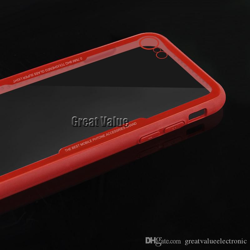 New Hot Selling TPU Luxury Tempered Glass Back Panel Phone Cover Phone Case For iPhone X, iPhone 8, Samsung S9