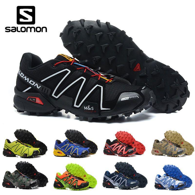 851fa162780 Compre 2019 Salomon Speed cross Cs 3 III Hombres Zapatillas Deportivas Para  Correr Al Aire Libre Zapatillas De Deporte Zapatillas Hombre Zapatillas De  ...