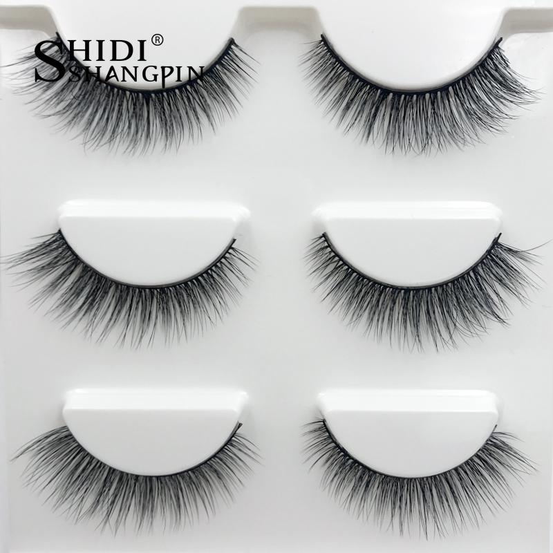 2019 New 6 Styles 5 Pairs Mink Hair False Eyelashes Natural Thick Long Soft Eye Lashes Makeup Extension Tools A Great Variety Of Goods Beauty Essentials False Eyelashes