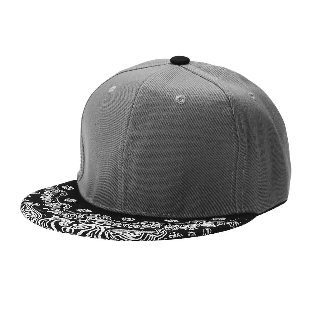 f31ed019eea Men Women Hiphop Hat Snapback Baseball Cap Patchwork Adjustable Dance Unisex  Flat Casual Baseball Hat White Red Gray Trucker Cap Snapback Caps From ...