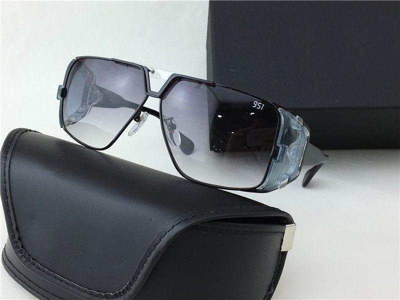 6cc38003a2f Mens Vintage Legend Sunglasses Black Grey Shaded 951 Sonnenbrille ...