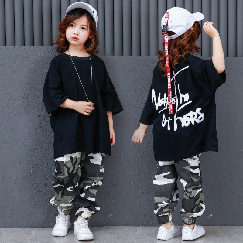 Compre Pantalones De Camuflaje Salón De Baile Jazz Hiphop Street Dance  Trajes De Ropa Niños Hip Hop Trajes De Baile Niños Niños Niñas Mujeres  Hombres A ... f524cd2a22f