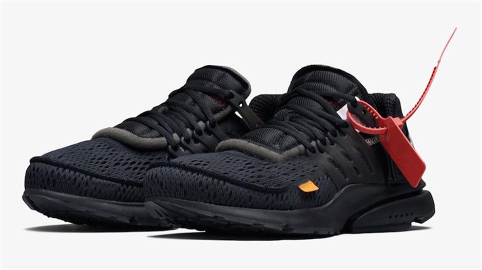 a11557c4a94 2018 Best Off Shoes Presto 2.0 Black White Men Running Shoes Best Black  White AA3830-002