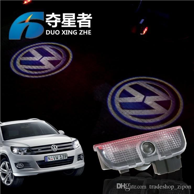New For Vw Volkswagen Car Door Welcome Lights Laser Projection Led