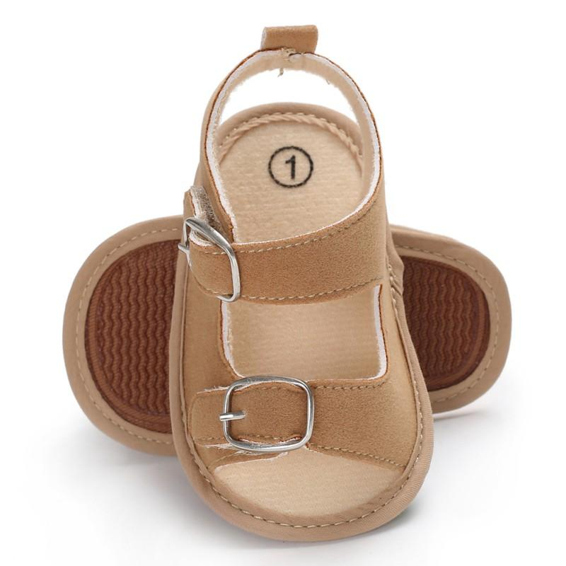 3847662abbc41 Stylish Baby Boys Girls Sandals Toddler Solid Color Slip On Shoes Summer  Baby PU Leather Sandals 0 18Months Boy Shoes Online Boys Shoe Sale From  Beasy