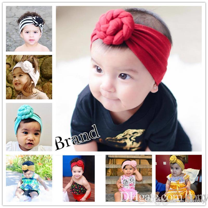 Großhandel Ins Hot Baby Knoten Indien Stirnband Cute Baby ...
