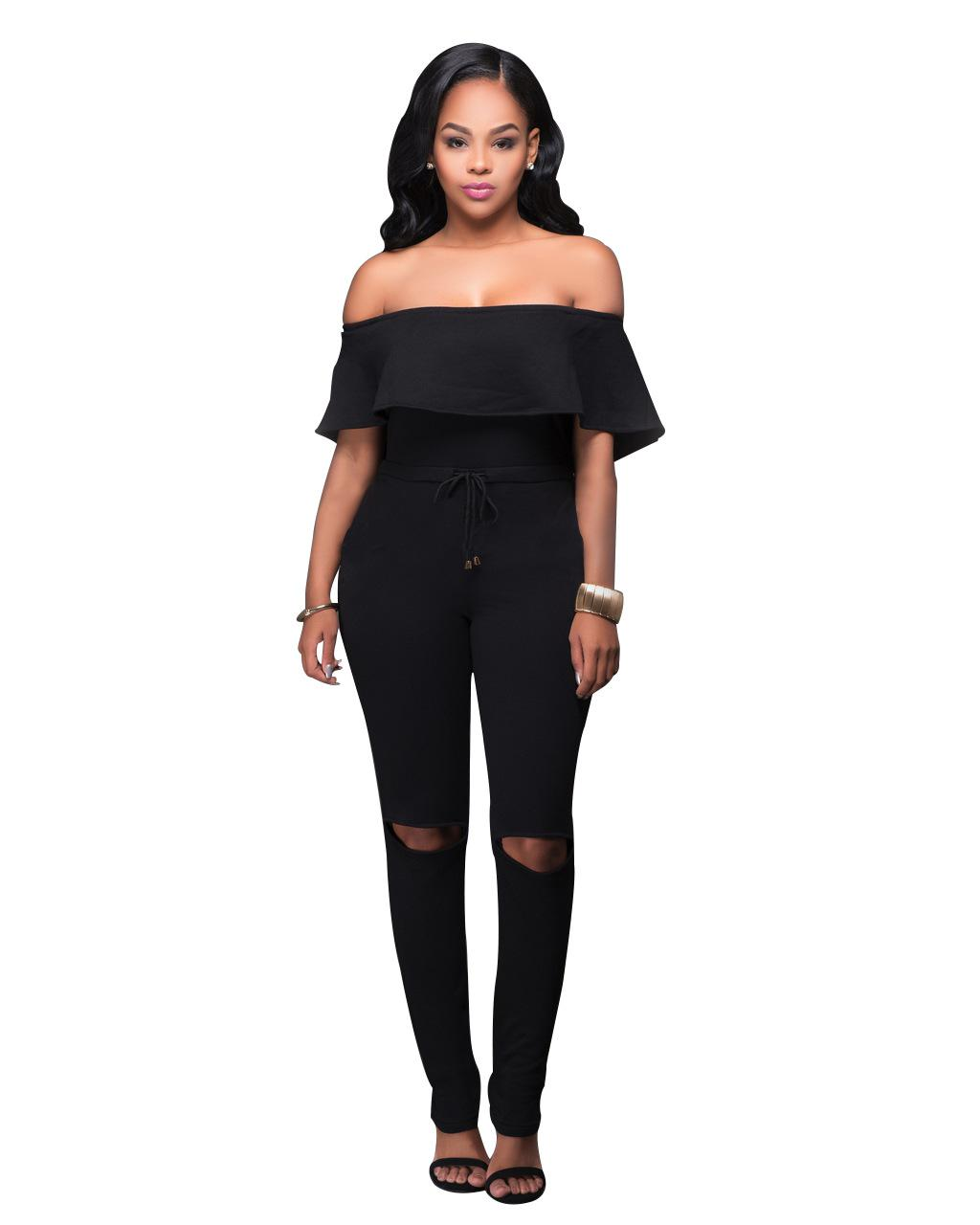 2019 Wholesale Sexy Bodysuit Women Jumpsuit Romper Womens Tops Overalls For  Women Elegant Long Plus Size Body Playsuit Mono Encaje Bayan Tulum From ... dcd5fcbf8f