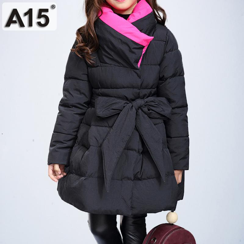 a509c25be90 Toddler Girls Winter Coats and Jackets Children Girls Parka Spring Autumn  Warm Clothes 2018 Big Teen Age 6 8 10 12 14 Year