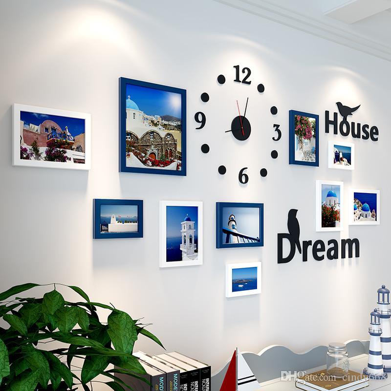 Großhandel 10 Stücke Bilderrahmen Für Wohnzimmer Rahmen Für Baby ...