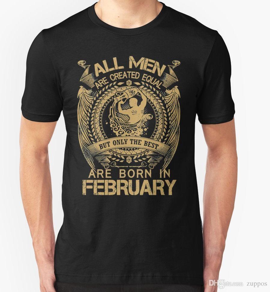 48fe3afd BIRTHDAY T SHIRT FEBRUARY AQUARIUS PRESENT GIFT STAR SIGN ZODIAC